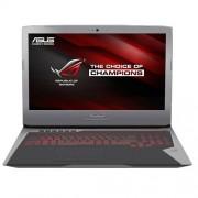 """Notebook Asus G752VT, 17.3"""" Full HD, Intel Core i7-6700HQ, 970M-3GB, RAM 32GB, HDD 1TB + SSD 512GB, Windows 10, Gri"""