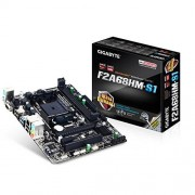 Gigabyte GA-F2A68HM-S1 AMD A68H Socket FM2+ 1 x Ethernet 4 x USB 2.0