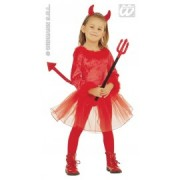 Costum carnaval copii Devil Girl