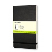 Moleskine Soft Cover Plain Reporter Notebook