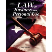 Law for Business by John E. Adamson