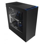 NZXT - Torre per PC fisso CA-S340MB-GB Source 350 Blu nero/blu