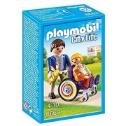 PLAYMOBIL Child in Wheelchair Playset