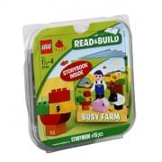 Lego 6759 Duplo - Read and Build, pieza de construcción con diseño de granja con libro de lectura [contenido en inglés]