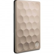 Hard disk extern Seagate Backup Plus Ultra Slim Gold 2TB 2.5 inch USB 3.0
