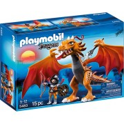 Playmobil Gouden draak met soldaat - 5483