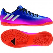 adidas Kinder-Fußballschuh MESSI 16.4 IN J - blue/ftwr white/solar or