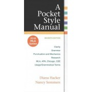 Pocket Style Manual with 2016 MLA Update by University Diana Hacker