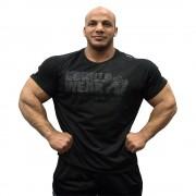 Gorilla Wear Memphis Mesh T-Shirt Black - M