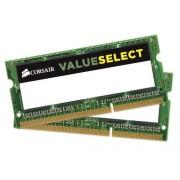 Corsair CMSO8GX3M2C1600C11 Value Select Memoria da 8 GB (2x4 GB), DDR3, 1600 MHz, CL11