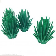 Lego Parts: Plant Prickly Bush 2 X 2 X 4 (Pack Of 4 Green)