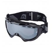 ALPINE PRO SKYFALL Dětské lyžařské brýle KGSB007990 černá