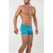 Mundo Unico Kabayaki Short Boxer Brief Underwear Turquoise/Green 15300848-90