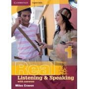 Cambridge English Skills Real Listening and Speaking 1 with Answers and Audio CD: Level 1 by Miles Craven