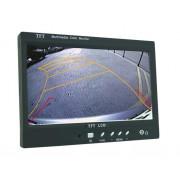 ABM univerzális 7'' TFT-LCD monitor (12/24V teherautókhoz) audio bemenettel (ABM-CAM-M7001A)