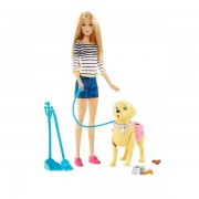 Mattel Barbie A Spasso Coi Cuccioli
