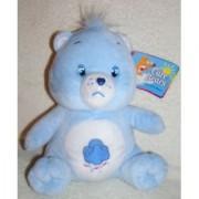 2003 Care Bears 9 Plush Sitting Grumpy Bear Doll