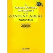 The Oxford Picture Dictionary for the Content Areas: Teacher's Book by Dorothy Kauffman