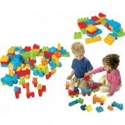 Imparare e soft play Cubes Set (106-Piece, multi-colore)