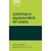 Summary Assessment of Costs by Katherine Scott