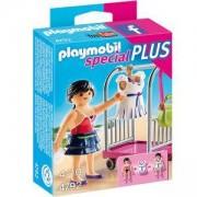 Комплект Плеймобил 4792 - Манекенка със стойка за дрехи - Playmobil, 291303