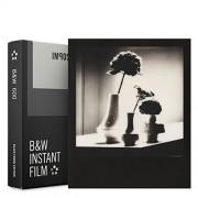 Impossible - 4517 - Nouveau : pellicule N&B pour Appareil Polaroid type P600 - cadre noir - 8 feuilles par boîte