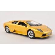 Lamborghini Murcielago, amarillo , 2002, Modelo de Auto, modello completo, Bburago 1:24