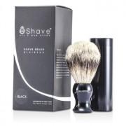 Travel Brush Silvertip With Canister - Black 1pc Pămătuf de Călătorie cu Vârf Argintiu cu Casetă - Negru