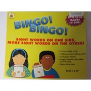 Bingo! Bingo! Game Large Colorful Two Sided Cards Two Skill Games In One Box