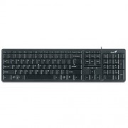 Tastatura GENIUS; model: SLIMSTAR 120; layout: US; Negru; USB