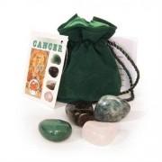 Scarabeo Kräftan-Cancer, kristall talismaner