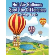 Hot Air Balloons Spot the Difference Activity Book by Jupiter Kids