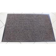 Középbarna leveles szőnyeg lábtörlő 40x60cm/Cikksz:05200775