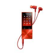 MP3 плеер Sony NW-A25HN, кирпично-красный
