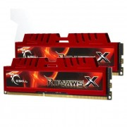 Mémoire LONG DIMM DDR3 G.Skill DIMM 16 GB DDR3-1866 Kit F3-14900CL10D-16GBXL, RipjawsX 16 GB CL10 10/11/30 2 barettes