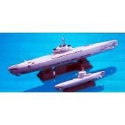 Skywave 1/700 WWII German Submarine Type 21 and 23 U-Boats Model Kit (japan import)