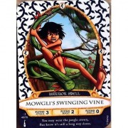 Sorcerers Mask Of The Magic Kingdom Game Walt Disney World - Card #49 MowgliS Swinging Vine