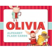 Olivia Alphabet Flash Cards by Ian Falconer