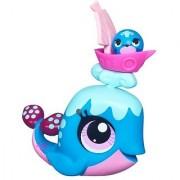 Littlest Pet Shop # 3233 Whale & # 3234 Whale Friend Sweeter Best Friends