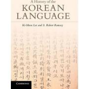 A History of the Korean Language by KI-Moon Lee