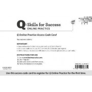 Q Online Practice Student Access Code Card by Marguerite Anne Snow