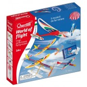Quercetti 03599 - Aereo World Of Flight: 5 Models