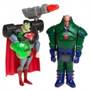 DC Justice League Superman vs Assault Armour Lex Luthor 2-Figure Pack