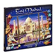 Schipper 609260435 Taj Mahal Memorial of Eternal Love Paint By Numbers Board