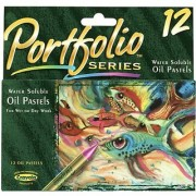 Crayola 12ct Oil Pastels Portfolio Series