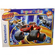 Clementoni - puzzle blaze and the monster machines - 104 pz