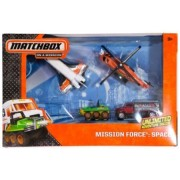 Space Mission Force Die-Cast Vehicle Pack (Star Shuttle/Mission Chopper/Utility Tanker/ATV 6x6/Express Delivery...