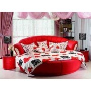 items-france SAMOUA - Lit + matelas + table de chevet