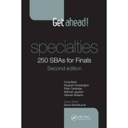 Get Ahead! Specialties: 250 SBAs for Finals by Fiona Bach