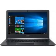"Laptop Acer Aspire S5-371 (Procesor Intel® Core™ i5-6200U (3M Cache, up to 2.80 GHz), Skylake, 13.3""FHD, 8GB, 256GB SSD, Intel HD Graphics 520, Wireless AC, Tastatura iluminata, Win10 Home 64, Negru)"
